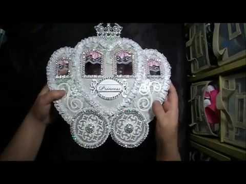 Princess Carriage Purse Album Template