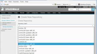 Create Spacewalk CentOS 6.5 Channel