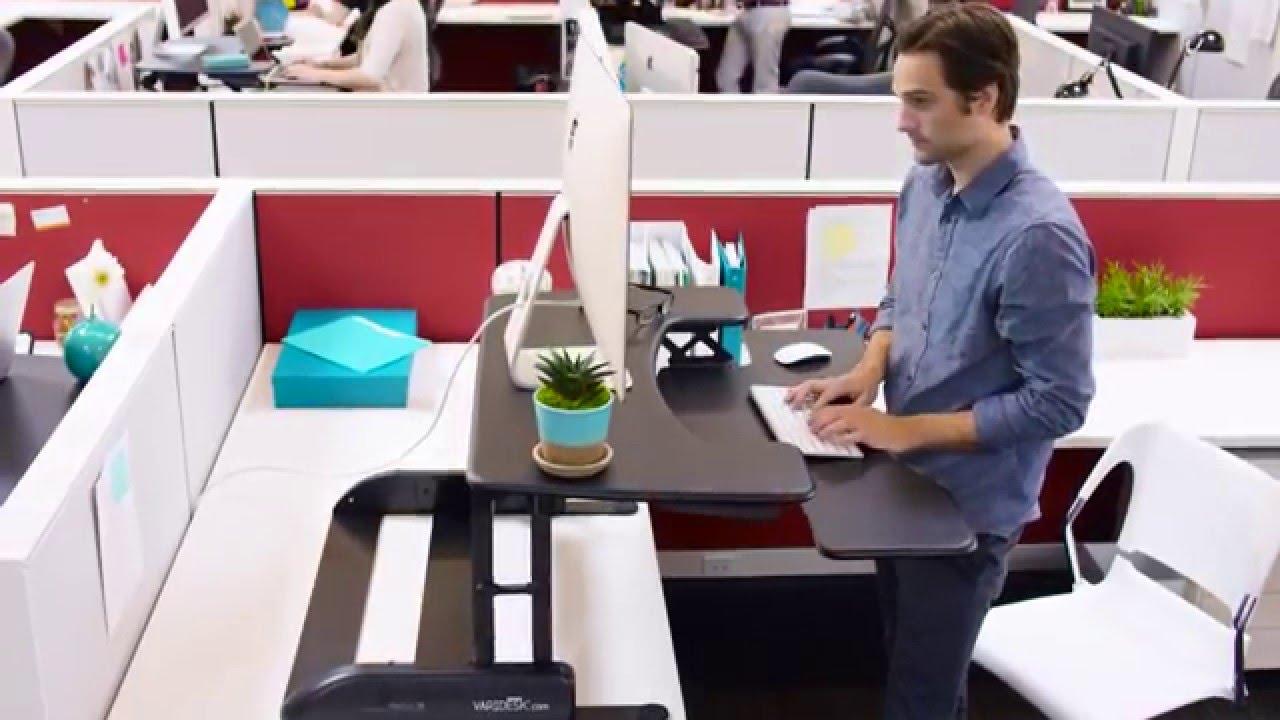 Adjustable Standing Desk Varidesk Pro Plus 36 Standing