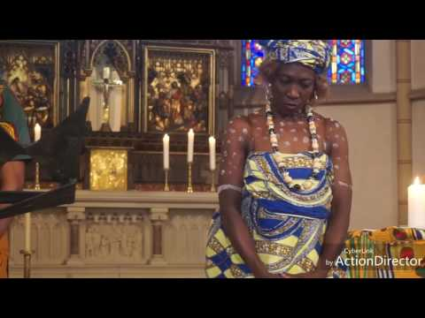 CULTURAL MASS Ghana catholic mission hamburg 16 / 7 2017