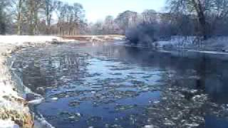 River Eden Ice Flows 9th January 2010