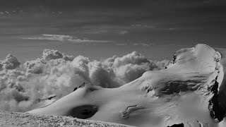 4000m peak in the Swiss Alps - The Allalinhorn
