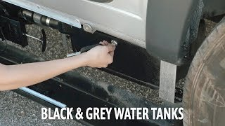 Apollo RV USA Demo Video – Roadtrek: Draining the Waste Tanks