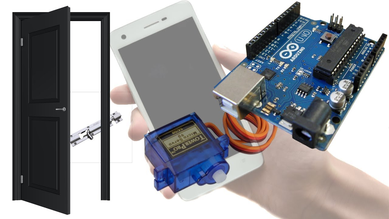 Open a Lock using Arduino and Android | Science Project for Home Automation