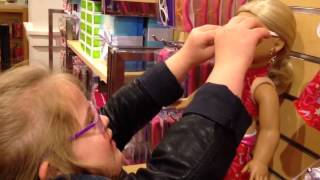 Visiting The American Girl Doll Store