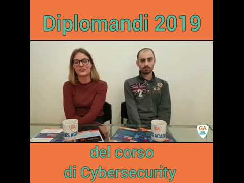 Marta E Luigi, Diplomandi Cybersecurity Geeks Academy Short Video