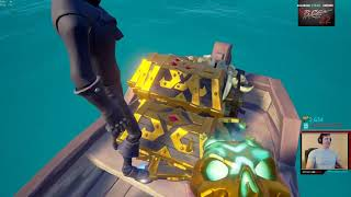 Gilded Athena Triple Steal- Pace22 Summit1G Cobbobles UniverseRob Sea of Thieves