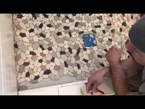 Pebble Tile Installation