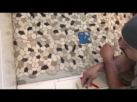 Easy Pebble Tile Installation: Tile Coach Episode 10