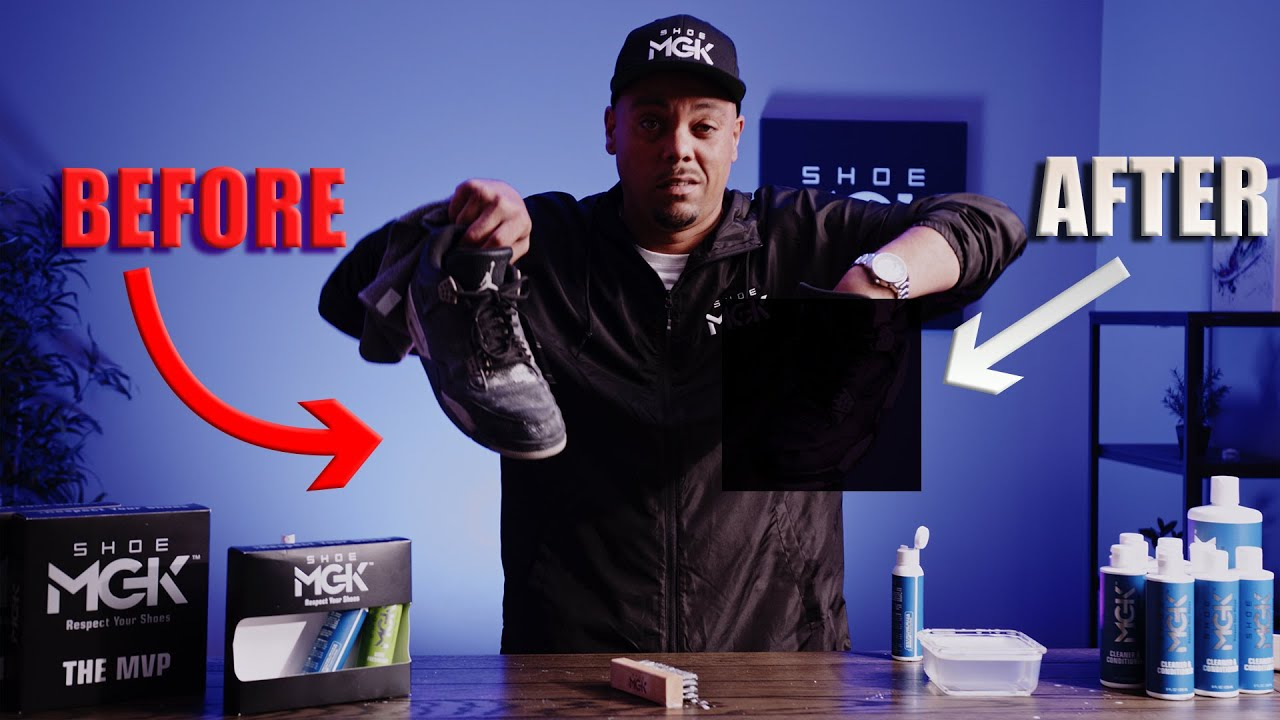 DESTROYED Oreo Jordan 4's - Can They Be Saved?