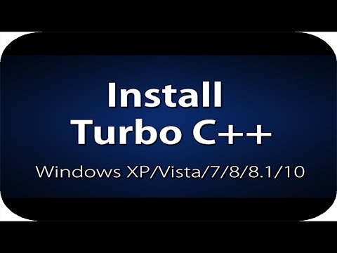 How To Install C++ In Windows XP/7/8/8.1/10