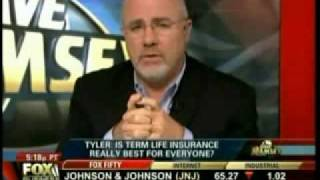 Dave Ramsey on Term Life Insurance and Whole Life Insurance