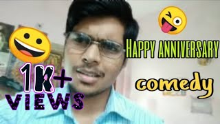 Anniversary day comedy|desteeno Krishna|funny comedy video when husband forgets marriage anniversary