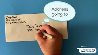 How to Address aฑ Envelope/ Fill out an envelope U.S.Mail.