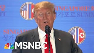 Report: President Donald Trump 'Very Worried' About Mueller Probe | The Last Word | MSNBC
