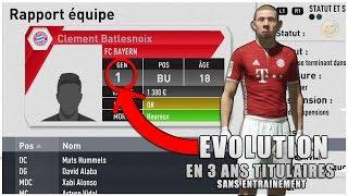 ÉVOLUTION D'UN JOUEUR A 1 DE NOTE ! (FIFA 17 CARRIÈRE MANAGER )