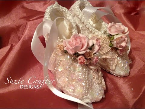 Crafty Me Shop DT - Handmade Ballet Slippers
