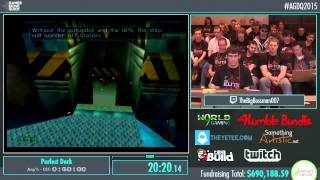 Awesome Games Done Quick 2015 - Part 161 - Perfect Dark by Big Bossman