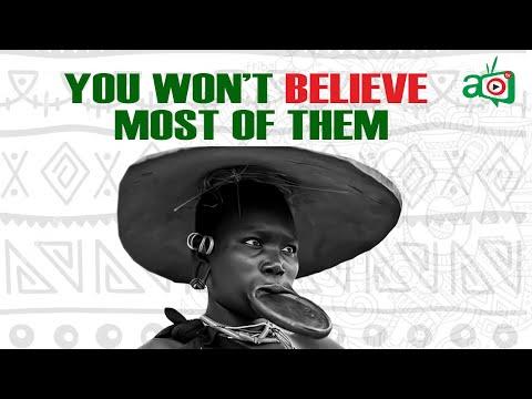 10 Weirdest Cultures Still Practiced In Africa Today