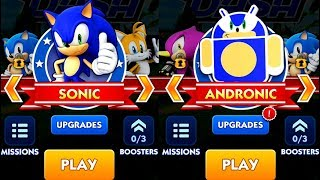 Sonic Dash SONIC VS ANDRONIC Android iPad iOS Gameplay HD