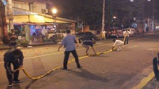 New Year Fireworks 2017 - Manila, Philippines