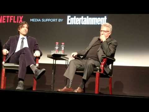 "Dustin Hoffman & Noah Baumbach answering ""what they wish they knew"" at Tribeca"