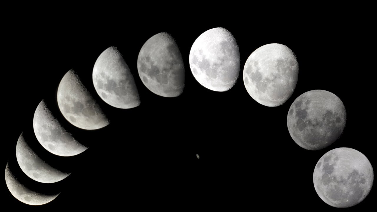 12 Days Moon Phases Leading up to Saturn Occultation on May 14, 2014