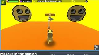 Parkour In The Minion - KoGaMa 7#
