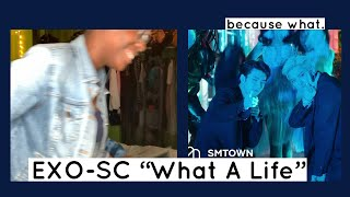 EXO-SC 세훈&찬열 'What a life' MV (REACTION) | ANOTHER MESS.