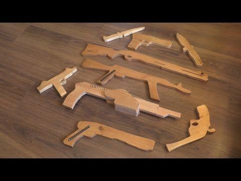 Оружие из дерева, сделанное своими руками