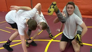 Top 5 Wrestling Moves *TAKEDOWNS* (part 2)