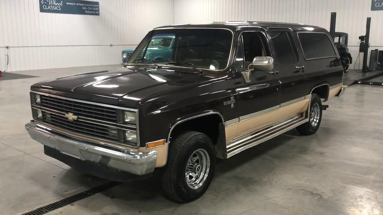 Rust Free 1984 Chevrolet Suburban form ARIZONA! - YouTube