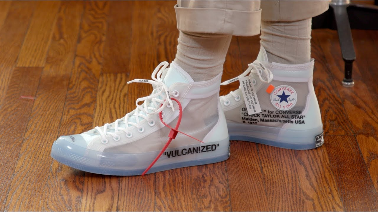 top-rated authentic deft design most desirable fashion Off-White Converse Chuck Taylor Style Tips