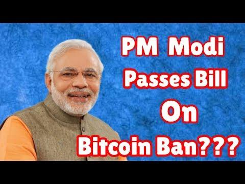 PM Modi Passes Bill On Bitcoin Ban?? Really??