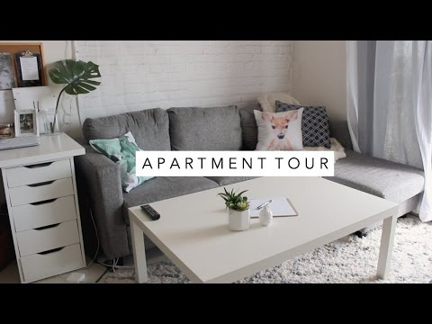 Unofficial Apartment Tour 2017 - One Year Update! Simple and Affordable | Laurie Lo