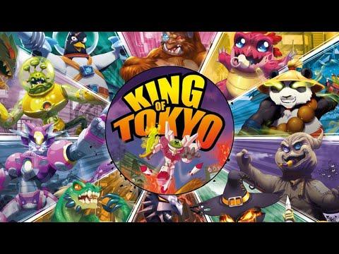 Повелитель Токио, Let's Play, настольная игра (цифровая версия King Of Tokyo)