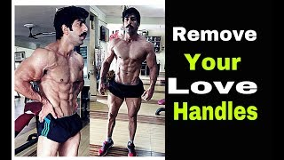 Best & Easy Way To Reduce Your Love Handle | 100% Natural | Rubal Dhankar|