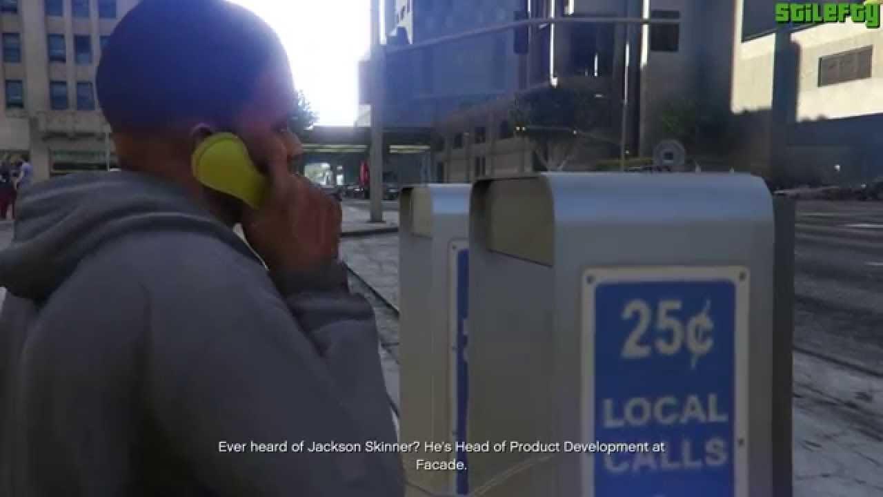 Gta5 Lester Telefon Görevi