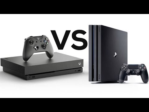 Xbox One X vs PlayStation 4 Pro!! ULTIMATE COMPARISON!! Specs, 4K, REVIEW