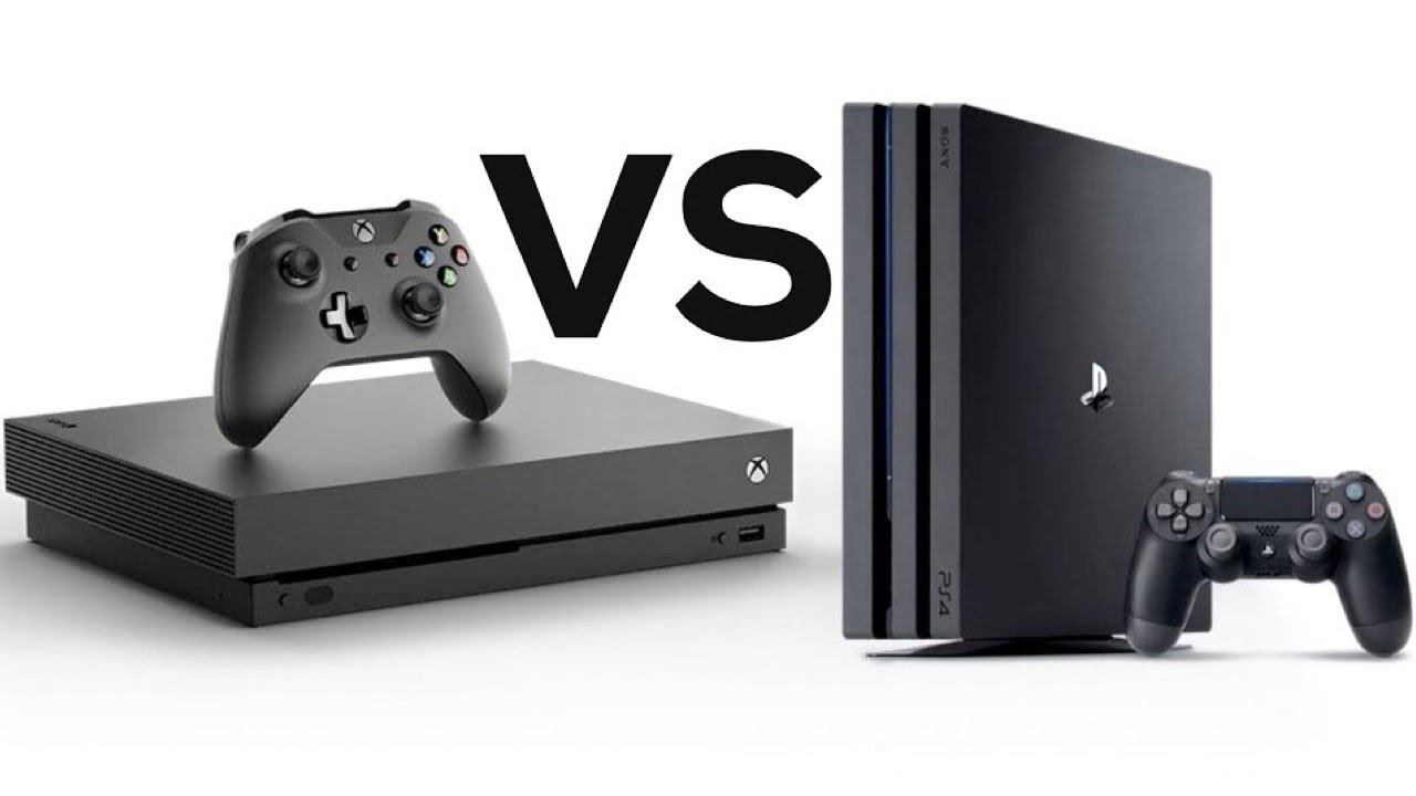 xbox one x vs playstation 4 pro ultimate comparison. Black Bedroom Furniture Sets. Home Design Ideas
