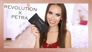 REVOLUTION | NEW REVOLUTION X PETRA EYESHADOW PALETTE!