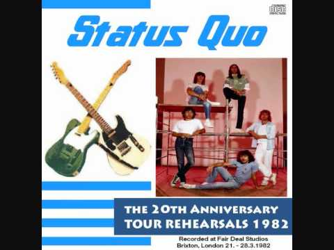 Status Quo - 1982 Tour Rehearsals - 19 Someone's Learning