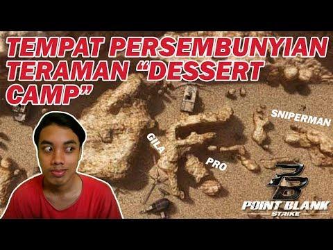 Tempat Persembunyian Paling AMAN di Dessert Camp (Mini Indonesia) - Point Blank Strike