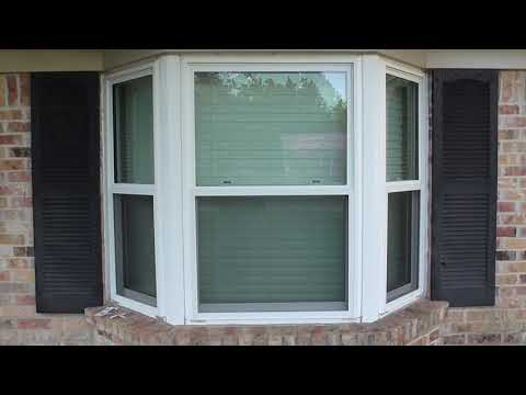 How to make Hurricane Shutters / Storm Panels - Bay Window shutters.  Inexpensive DIY.