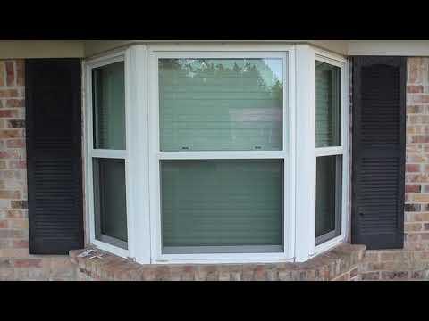 How to make Hurricane Shutters / Storm Panels - Bay Window shutters.  Inexpensive DIY.