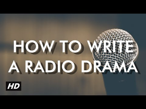 How to write a radio drama