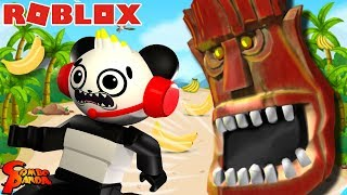 ESCAPING THE EVIL TIKI ISLAND IN ROBLOX! Let's Play Roblox with Combo Panda