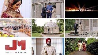 Ricky & Mani Sikh Wedding 2018 - Jett Media - Jett jagpal - Hilton Hall Uk