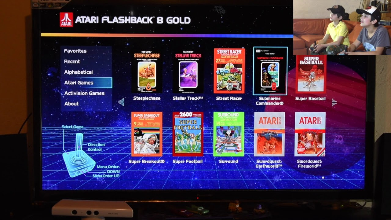Unboxing Consola Atari Flashback 8 Gold 40th 120 Juegos Youtube