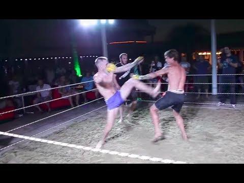ЭТО СПАРТА !!! мужики со стройки в Ринге !!!!
